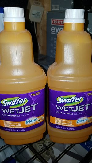 Swiffer wet jet refills for Sale in Frederick, MD