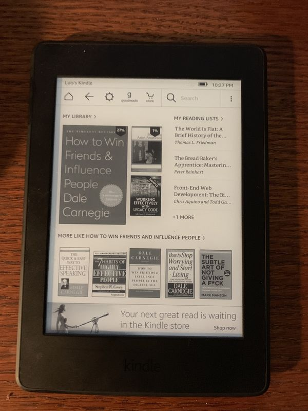 Kindle Paperwhite for Sale in Austin, TX - OfferUp