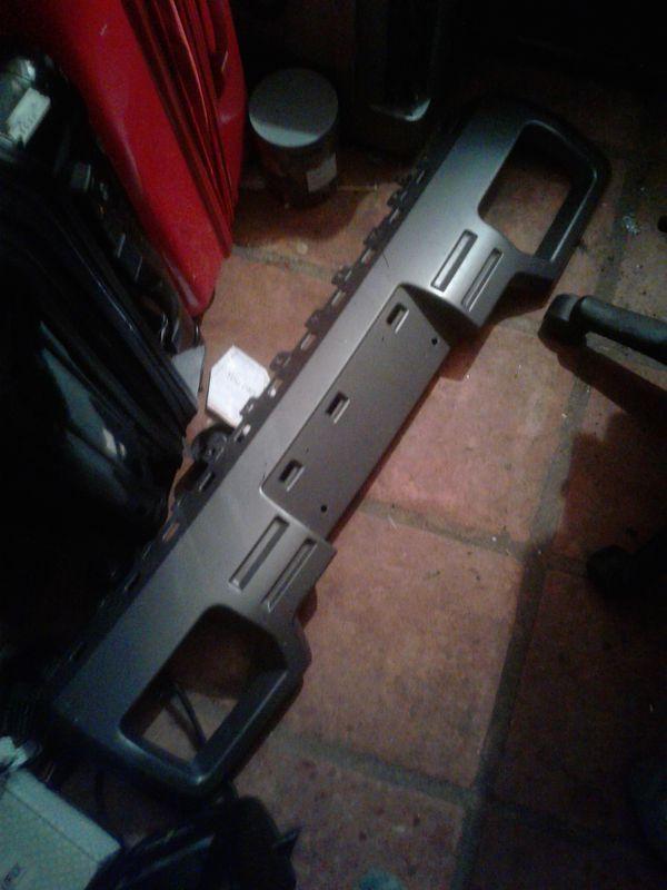Gmc sierra 1500 front bumper license plate bracket frame (Auto Parts ...