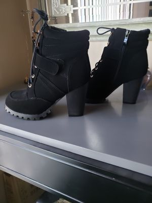 3a93d151761 New and Used Black booties for Sale in Fontana, CA - OfferUp