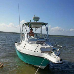 1996 Quest Cuddy Cabin Boat For In Atlantic Beach Sc