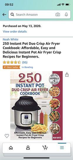 Instant pot cookbook air fryer Thumbnail