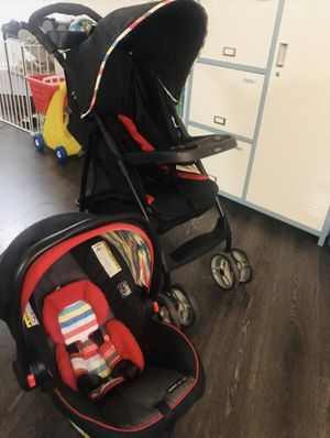 Graco Snug ride 30 lx click connect car seat & literider lx stroller for Sale in Fairfax, VA