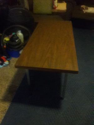 Photo Skinny coffee table for the living room. Great shapes. For. 45