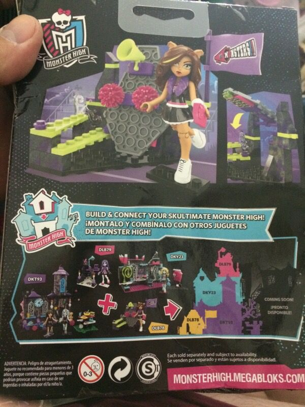 Monster High Build Creeperific Character