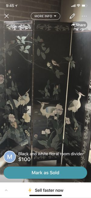 Authentic Chinese room divider for Sale in St. Louis, MO