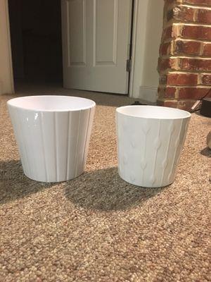 Ikea flower pots $5 each for Sale in Washington, DC