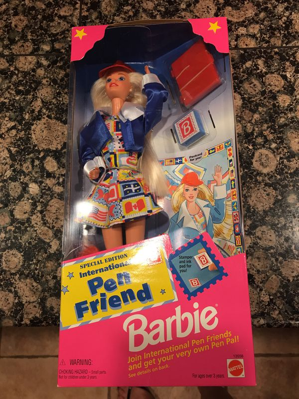 "Barbie - International Pen Friend ""1995"" for Sale in Riverside, CA - OfferUp"