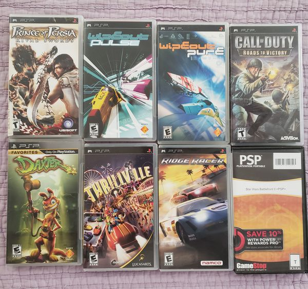 PSP Games (In Case/Adult Owned) for Sale in Corona, CA - OfferUp