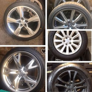 OEM WHEELS AND TIRES FOR SALE for Sale in Atlanta, GA