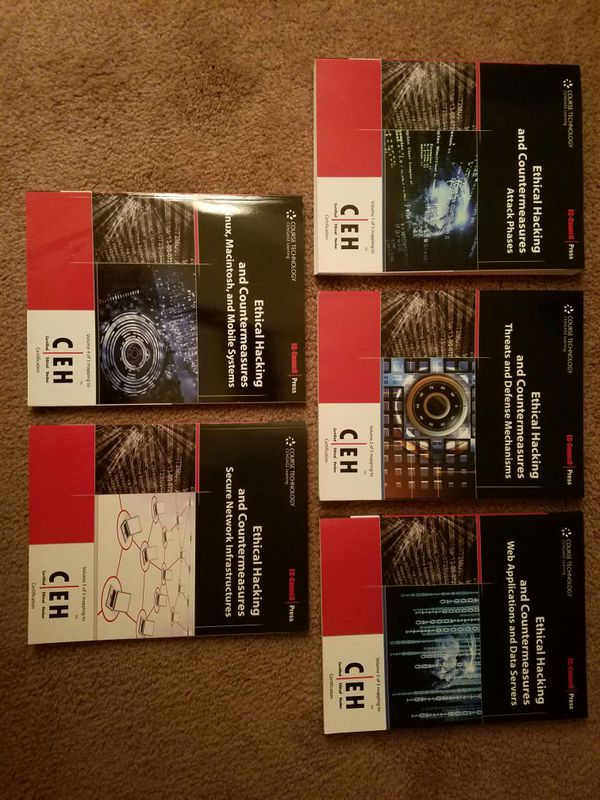 Ethical Hacking - Certified Ethical Hacker certification training books for  Sale in Virginia Beach, VA - OfferUp