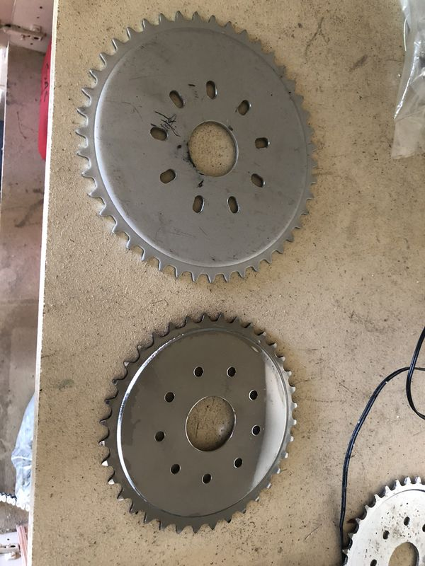 9 hole sprockets for motorized bicycles go karts mini bikes etc for Sale in  Chandler, AZ - OfferUp