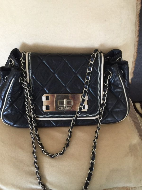 d6d3ce18d957 CHANEL MADEMOISELLE ACCORDION 2.55 FLAP BAG for Sale in Aventura, FL ...