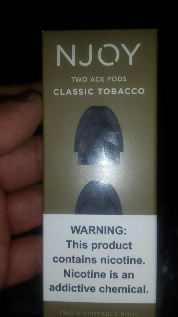 Njoy Ace pods classic tabacco for Sale in Seattle, WA - OfferUp