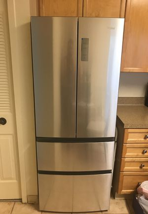 Almost Brand new Haier 15 cu refrigerator for Sale in Falls Church, VA