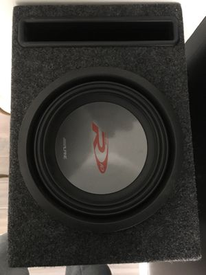 Alpine R Type 10in subwoofer box for Sale in Sterling, VA