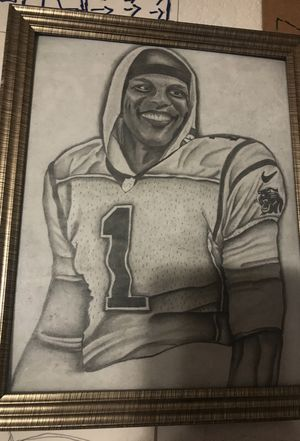 Cam Newton drawing good quality for Sale in Las Vegas, NV