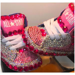 Bling Baby Converses for Sale in Baltimore, MD