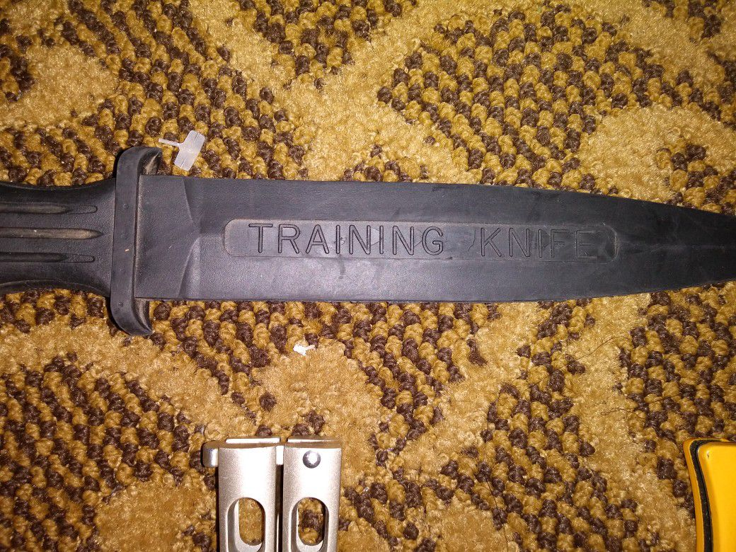Training Knives, Benchmade, Ronin Gear, And Rubber Training Boot Knives.