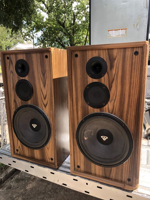 Cerwin Vega DX-5 $50 Are They Worth It | Audiokarma Home Audio