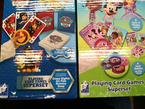 Kids playing card game set for Sale in Fairfax, VA