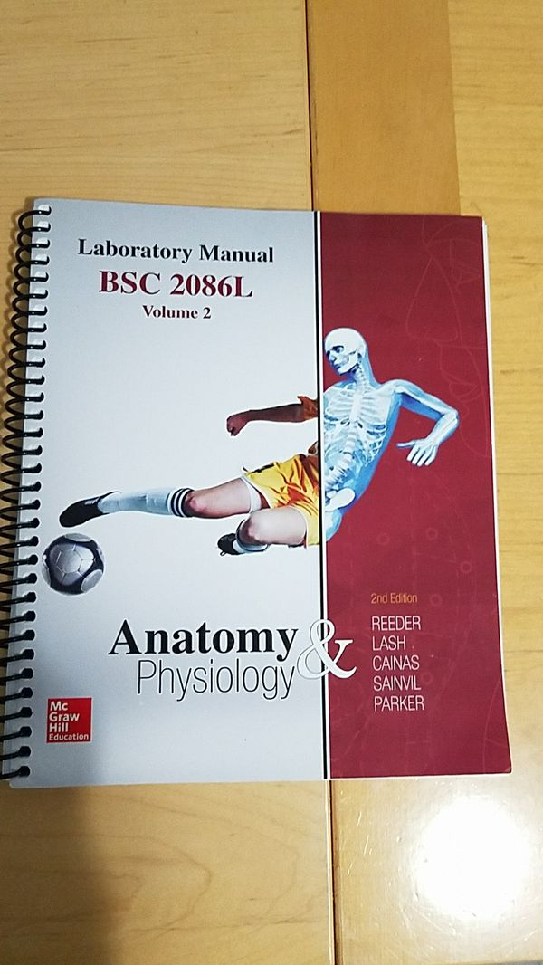 Anatomy and Physiology 2 Lab Manual for Sale in Davie, FL - OfferUp