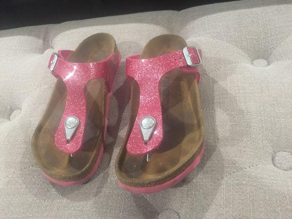 02677fc34bc6 Girl s pink glitter Birkenstocks size 33 (U.S. 2) for Sale in ...