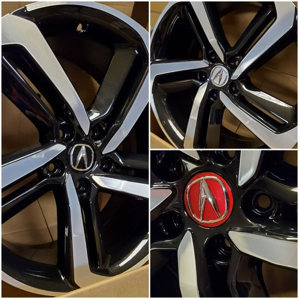 2019 Honda Accord Sport Acura Wheel Center Caps. Financing