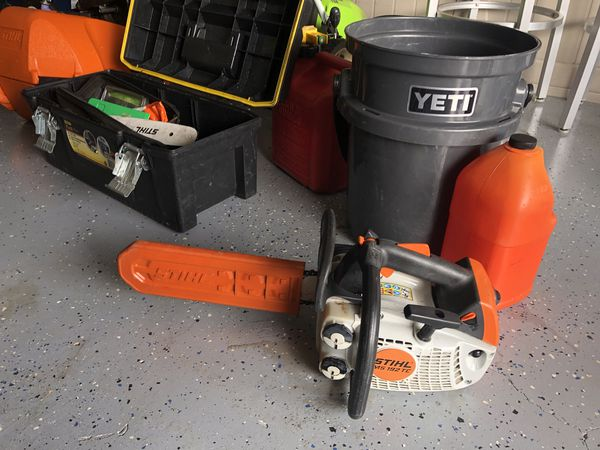 Stihl Ms 192 Tc Climber Chainsaw Great Condition For Sale In Seffner