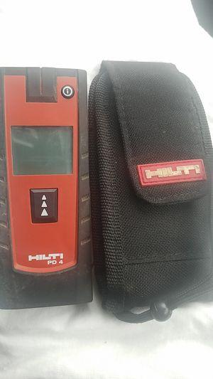 Hilti PD4 laser range meter... for Sale in Landover, MD