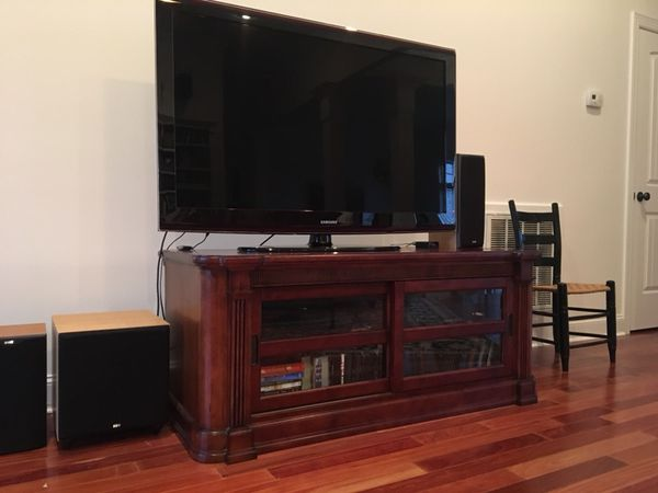 High End Media Console John Elway Line By Bett For In Owens Cross Roads Al Offerup