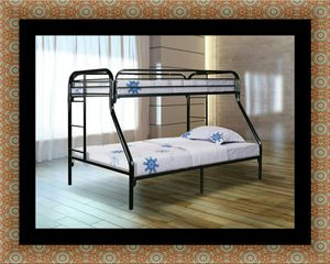 Full twin bunk bed frame for Sale in Adelphi, MD
