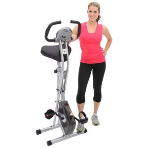 Exerpeutic Folding Magnetic Upright Bike with Pulse for Sale in Seattle, WA