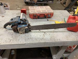 Photo Homelite xl-12 vintage chainsaw