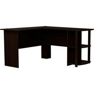 Ameriwood L Shaped Desk In Dark Russet Cherry For Sale In