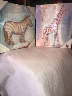 Canvas animal painting Thumbnail