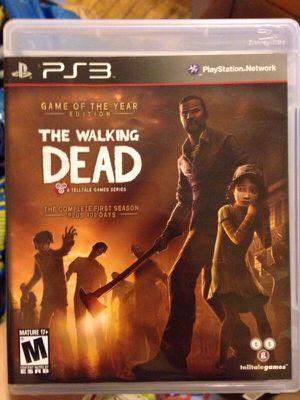 PS3 walking dead for Sale in Philadelphia, PA