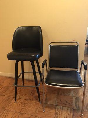 Black chair for Sale in Alexandria, VA