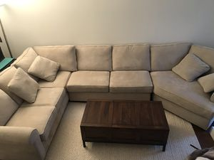 Large Sectional Couch - only 3 years old for Sale in Fairfax, VA