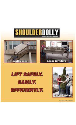 Moving supplies, shoulder dolly moving strap Thumbnail