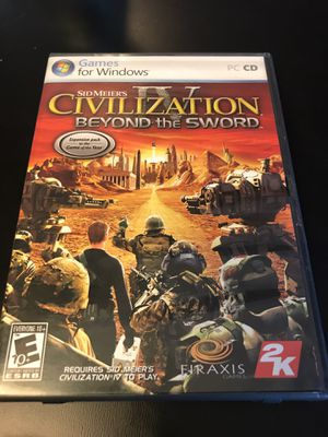 Sid Meiers Civilization IV Beyond the Sword - PC for Sale in Leesburg, VA
