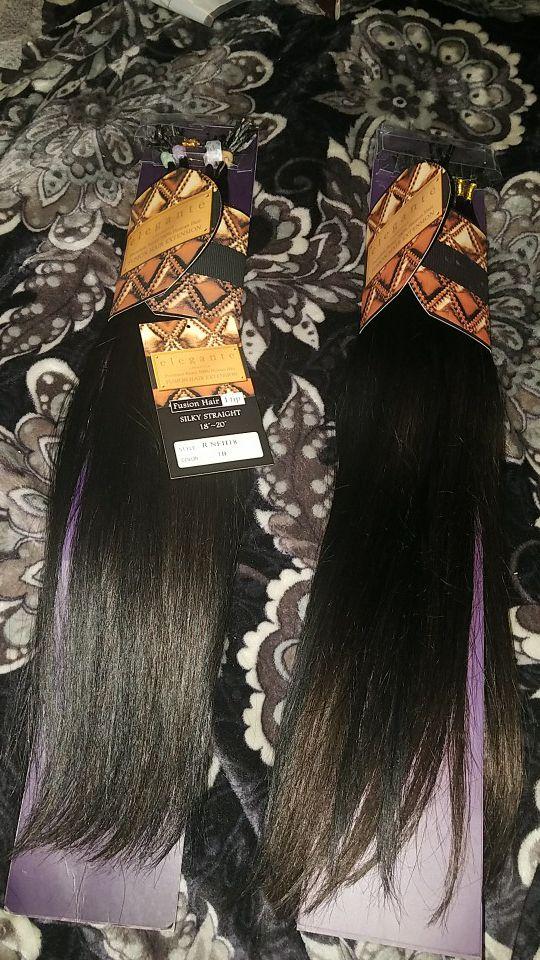 Elegant Premium Remy 100 Human Hair Fusion Hair Extensions Beauty