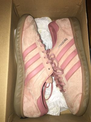 Pink Adidas Hamburg. Size: 8 for Sale in Silver Spring, MD