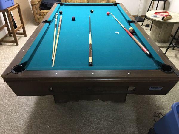 Minnesota Fats The Hustler Pool Table For Sale In New Lenox IL - Minnesota fats pool table for sale