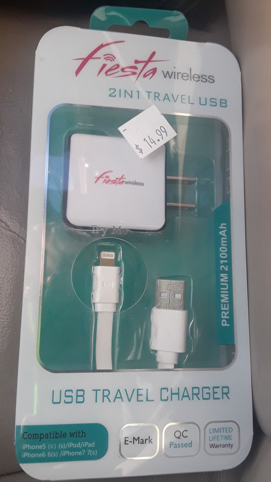 Fiesta iPhone Wall Charger