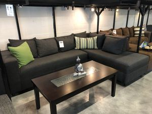 Charcoal Grey Sectional Sofa for Sale in Miami Springs, FL