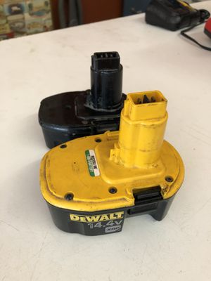 2DEWALT 14v BATTERY for Sale in St. Louis, MO