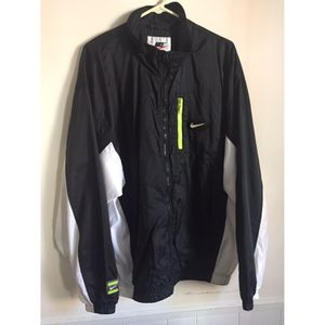 Vintage Nike Jacket Green Voltage/White/Black for Sale in Hyattsville, MD