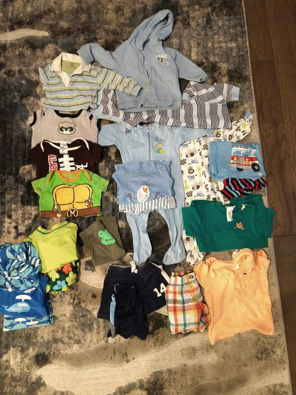 22b1d69ca462 Baby boy clothes lot 6-9 month old for Sale in Madison