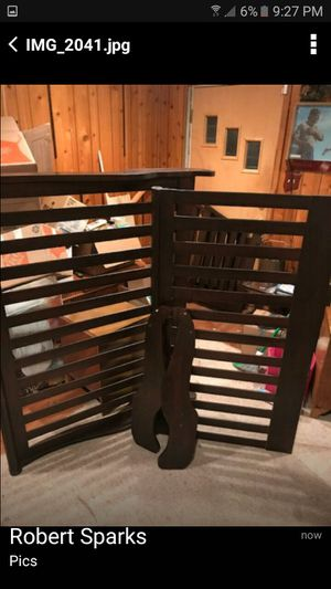 Natart sleigh crib for Sale in Arlington, VA
